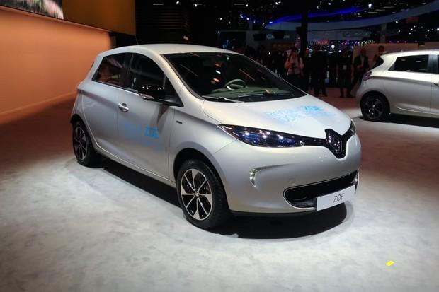 Renault Zoe já está à venda em concessionárias e no Salão (Foto: Maria Clara Dias/Autoesporte)