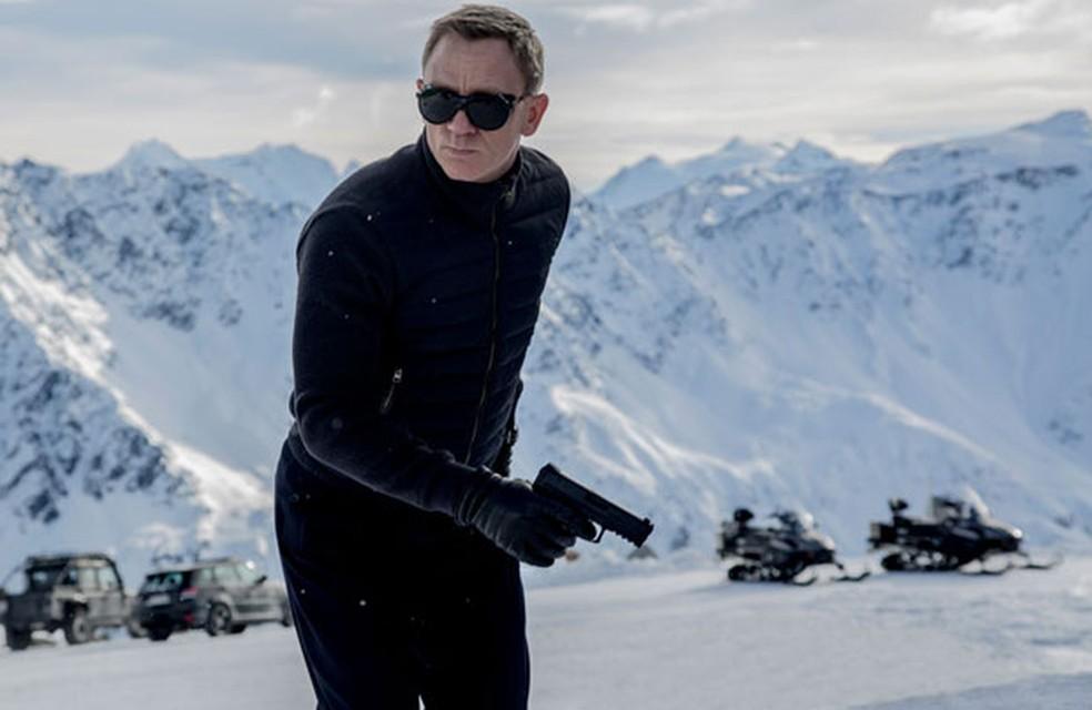 Daniel Craig como James Bond no filme 'Spectre' — Foto: Divulgação