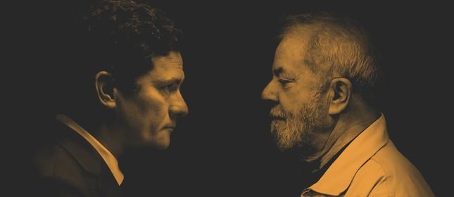 O juiz Sergio Moro e o ex-presidente Lula