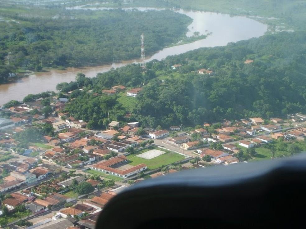 Cidade de Barão de Melgaço, a 121 km de Cuiabá (Foto: Divulgação)