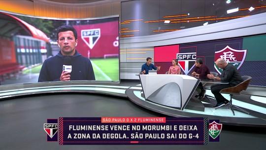 """Comentarista destaca problema de adaptação de Daniel Alves no São Paulo: """"Está desconfortável"""""""