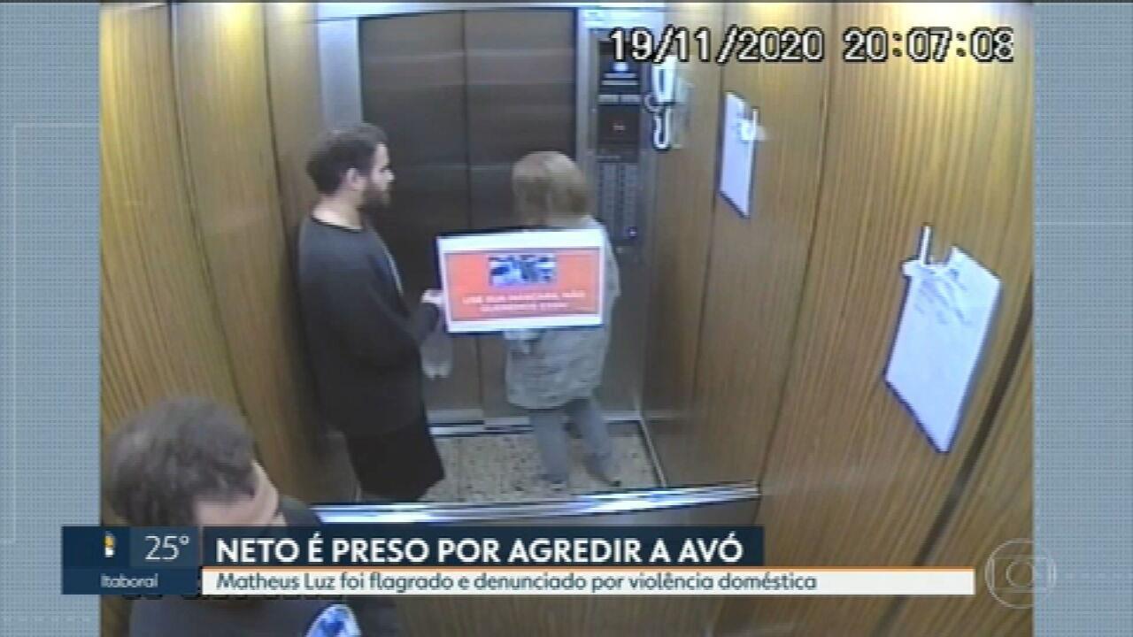 Homem suspeito de agredir a avó é preso no Leblon