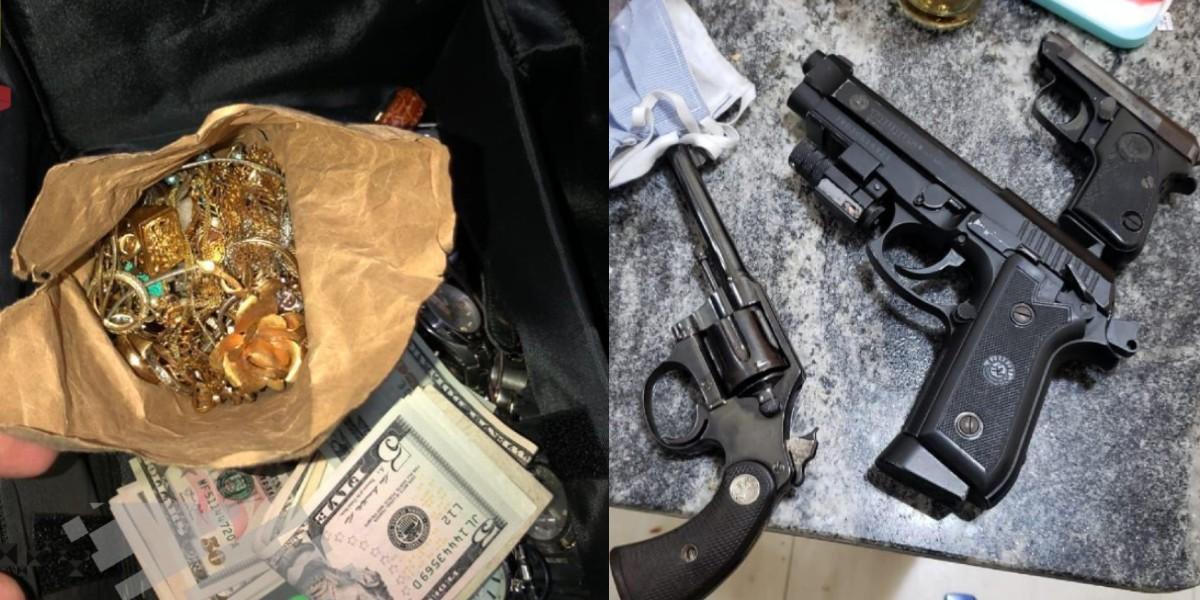 Quadrilha é presa após fazer arrastão em prédio de luxo e roubar joias, dinheiro e arma em SP