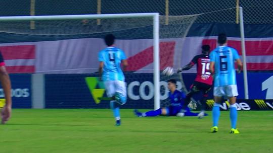 Atuações do Vitória: contra o Londrina, Felipe Gedoz e Caicedo rendem abaixo do esperado