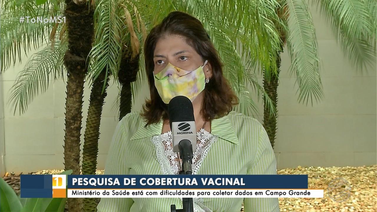 Ministério está com dificuldades para coletar dados de cobertura vacinal em Campo Grande
