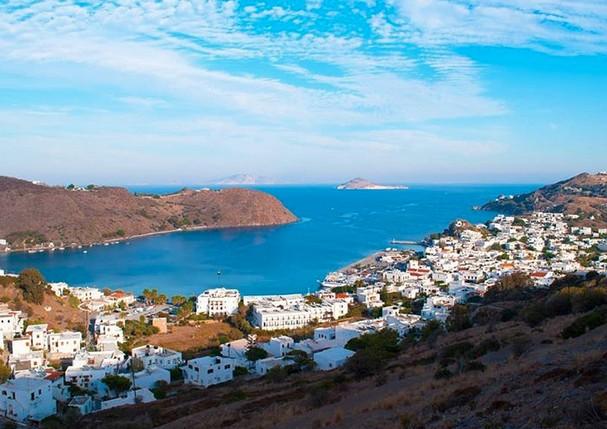 Patmos, na Grécia (Foto: Reprodução/Instagram)