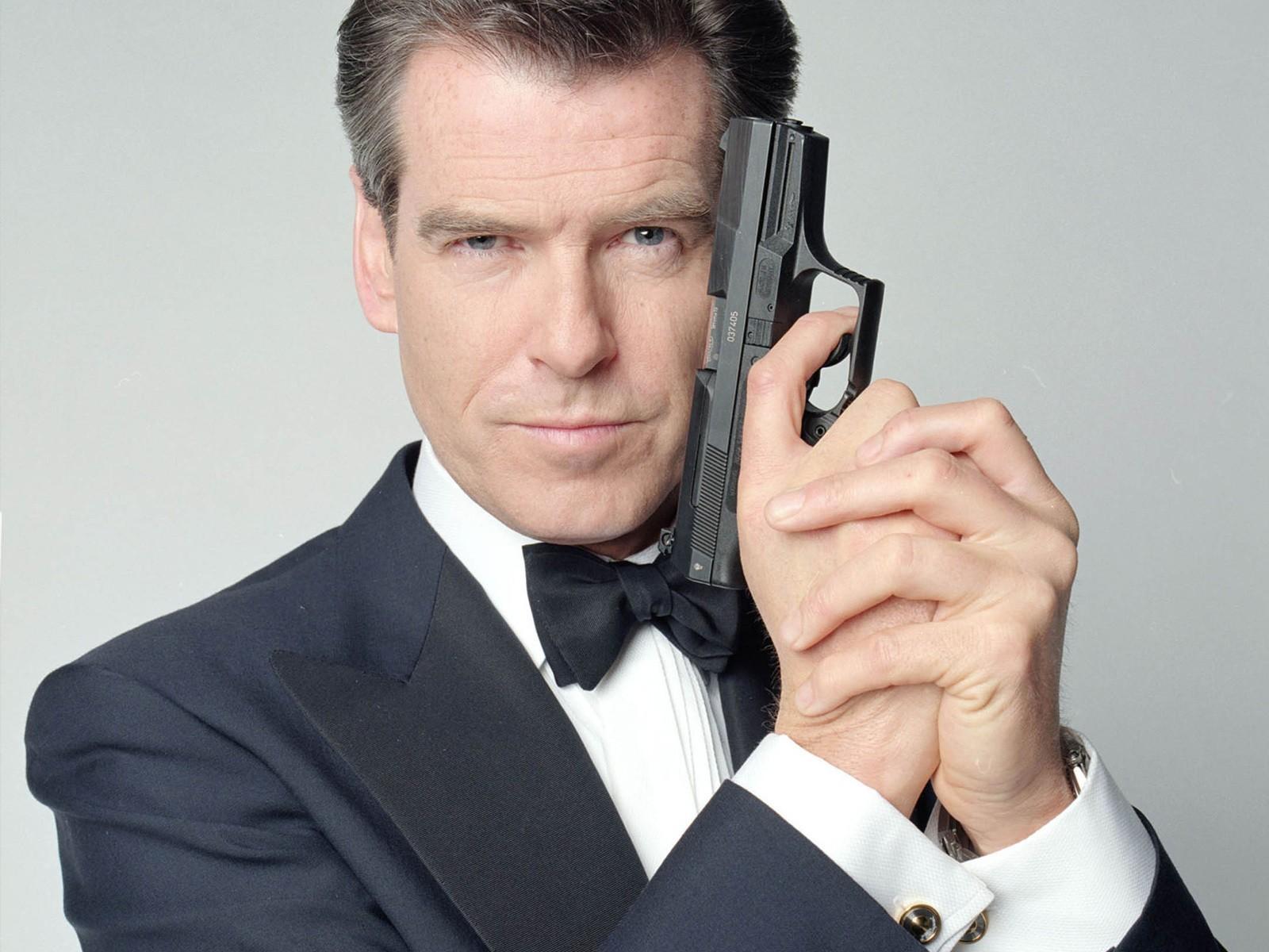 Pierce Brosnan como James Bond (Foto: Divulgação)