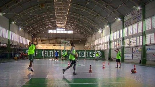 JF Celtics intensifica treinos para sequência da Liga Mineira de Basquete