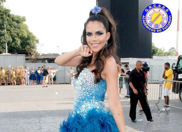 Daniela Albuquerque - Acadêmicos do Tucuruvi (Foto: AgNews)