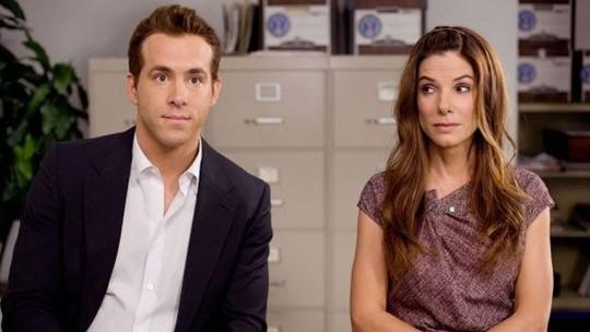 'A Proposta': veja o antes e depois de Sandra Bullock e Ryan Reynolds