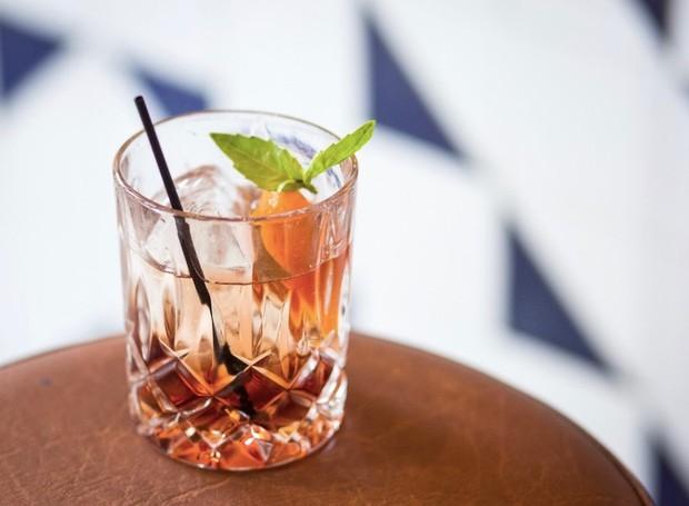 Drinque do Hudson Bar, em Nova York (Foto: Divulgação)