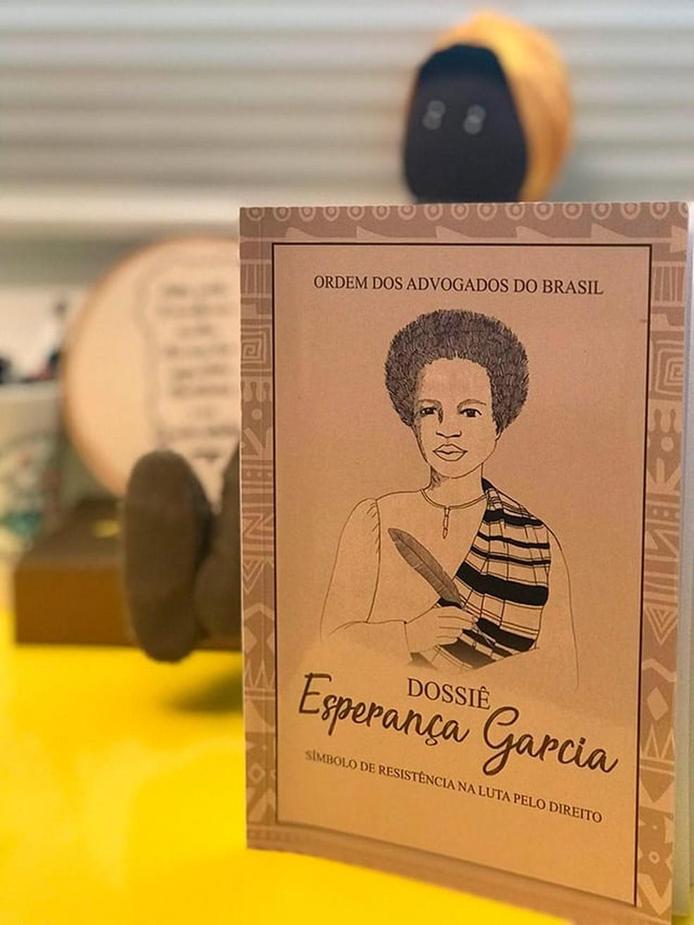 Dossiê Esperança Garcia: Símbolo de Resistência na Luta pelo Direito — Foto: Arquivo Pessoal