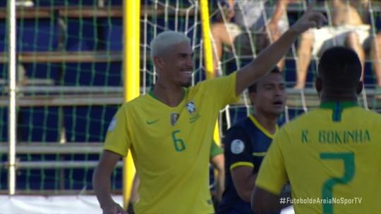 Brasil goleia o Equador por 11 a 2 e se garante na semifinal das Eliminatórias