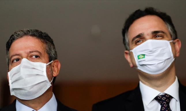 Presidentes da Câmara, Arthur Lira,  e do Senado, Rodrigo Pacheco, reuniram-se  com  CEOs de empresas. Na pauta, entre outras coisas, a liberação dos cassinos no Brasil