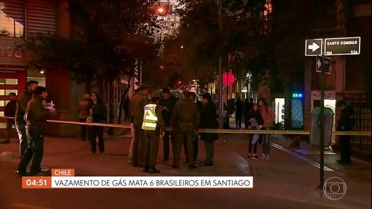 Vazamento de gás mata seis brasileiros no Chile