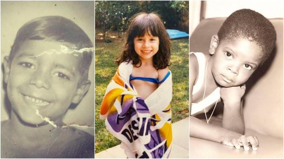 Famosos abrem álbum de infância para comemorar o Dia das Crianças — Foto: Reprodução/Instagram