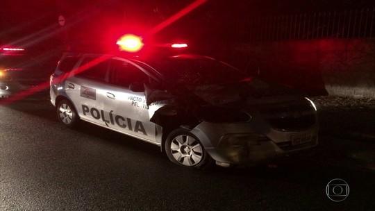 Perseguição policial termina em acidente e deixa dois PMs feridos na Zona Norte do Recife