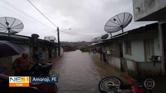 Grande Recife e Zona da Mata têm alerta para chuvas de intensidade moderada