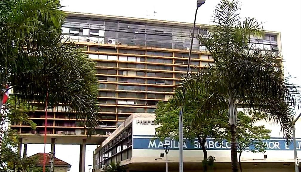 Prefeitura de Marília possui atualmente 127 cargos comissionados (Foto: Reprodução / TV TEM)