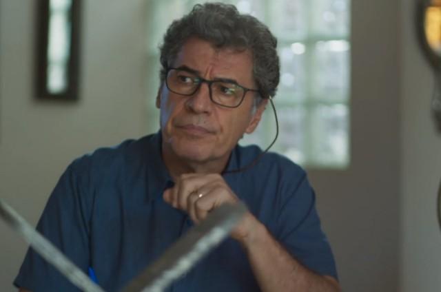 Paulo Betti, o Miguel Nasser de 'Órfãos da terra' (Foto: Reprodução)