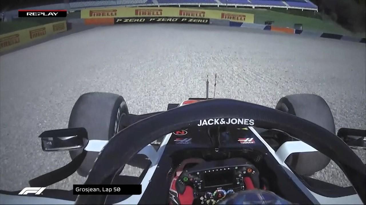 Confira os abandonos de Verstappen, Ricciardo, Stroll, Magnussen, Latifi e Kimi Raikkonen no GP da Áustria