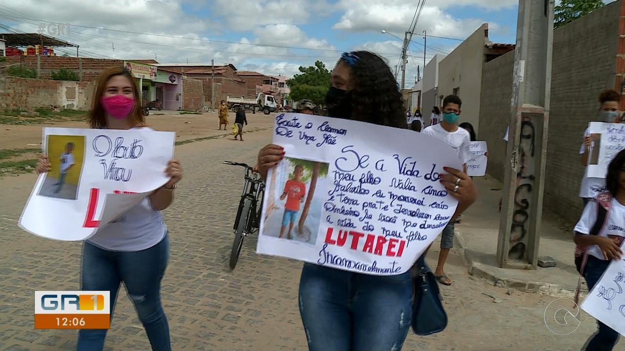 Família de adolescente atropelado na Orla de Petrolina realiza protestos nesta terça (26)