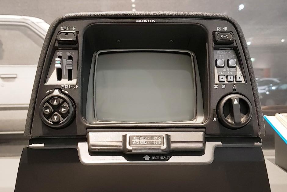 Honda Electro Gyrocator é o avô dos sistemas de navegação por GPS (Foto: Ulisses Cavalcante/Autoesporte)