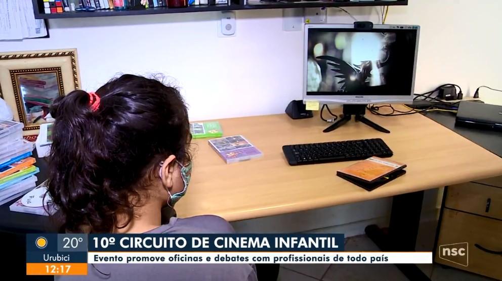 10º Circuito de Cinema Infantil tem programação com oficinas e debates em SC