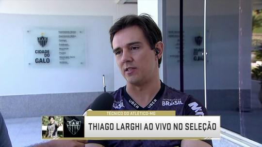 Inspirado por Guardiola, Thiago Larghi fala sobre bom momento do Atlético-MG