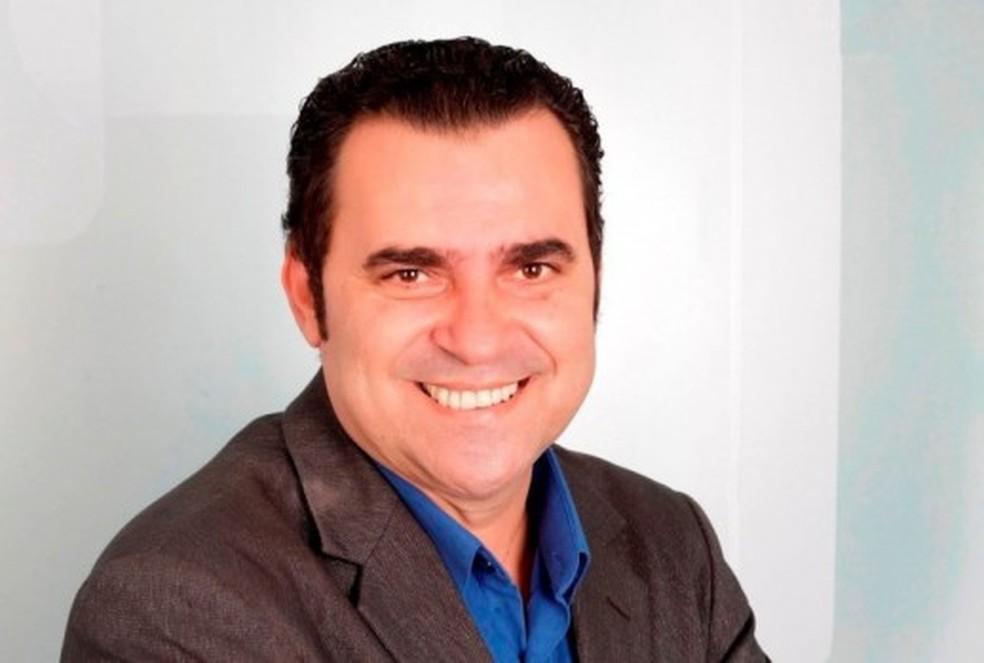 Jornalista Pinto Júnior morre de Covid aos 53 anos em Natal — Foto: Cedida