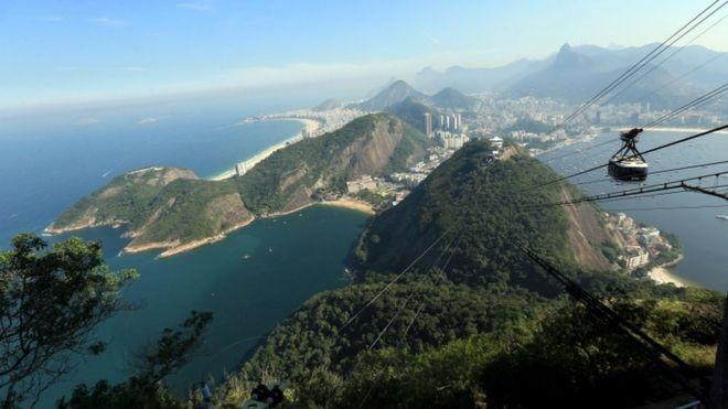 Quase 70 anos depois, cadáver encontrado na encosta de um dos mais belos cartões-postais do Rio continua a intrigar montanhistas (Foto: Mike Egerton/PA WIRE via BBC News Brasil)