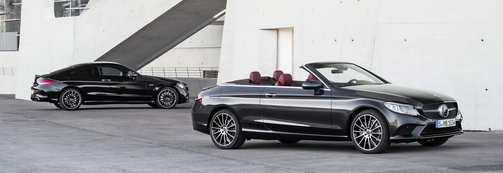 Mercedes-Benz Classe C Coupé e Cabriolet — Foto: Divulgação