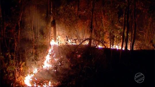 Incêndio na Serra Tapirapuã já dura quase 10 dias