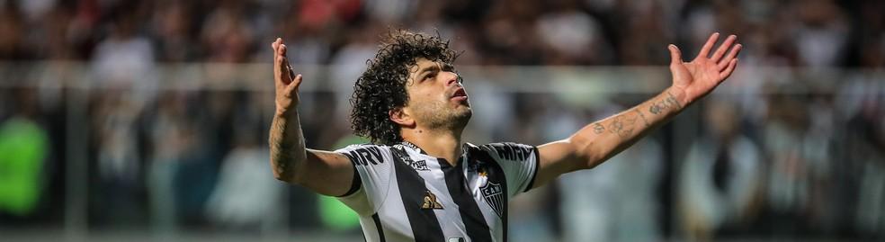 Luan, do Atlético-MG, é uma das dicas calculadas — Foto: Bruno Cantini/ Atlético-MG