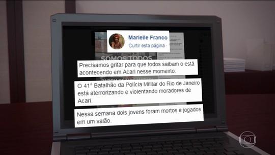 Marielle denunciava PMs e ajudava policiais vítimas de violência