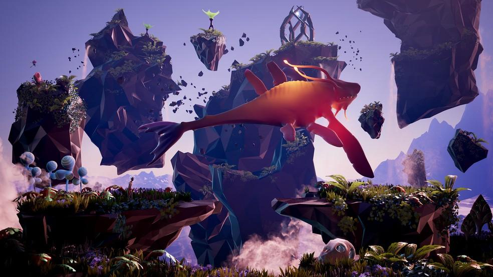 Lançado em 2018, Planet Alpha remonta um mundo alienígena repleto de mistério e perigos — Foto: Reprodução/Steam