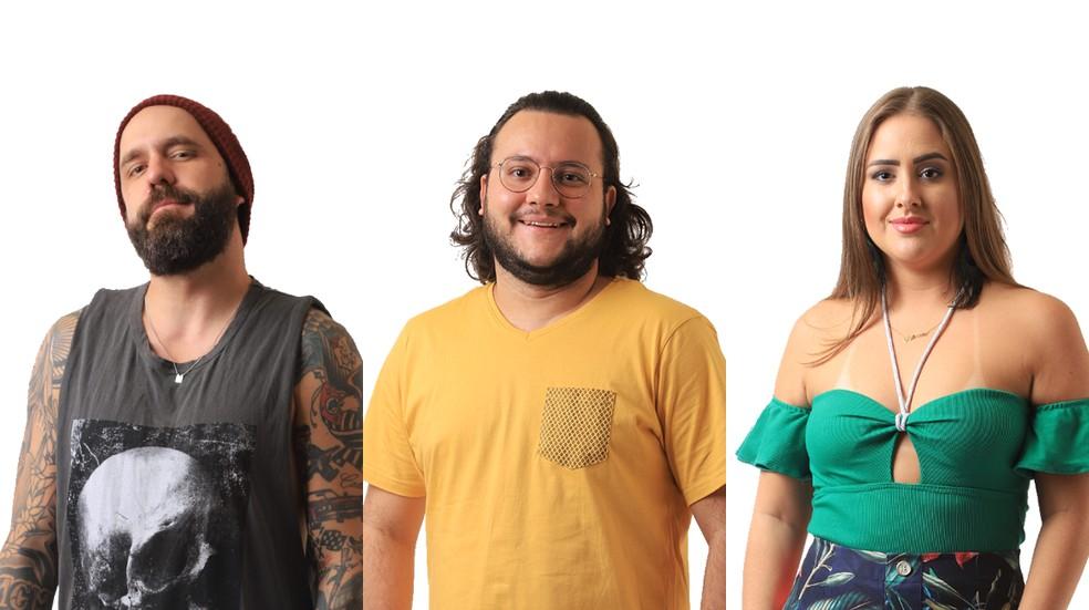 Vote no BBB18: Caruso, Diego ou Patrícia? Quem você quer eliminar?