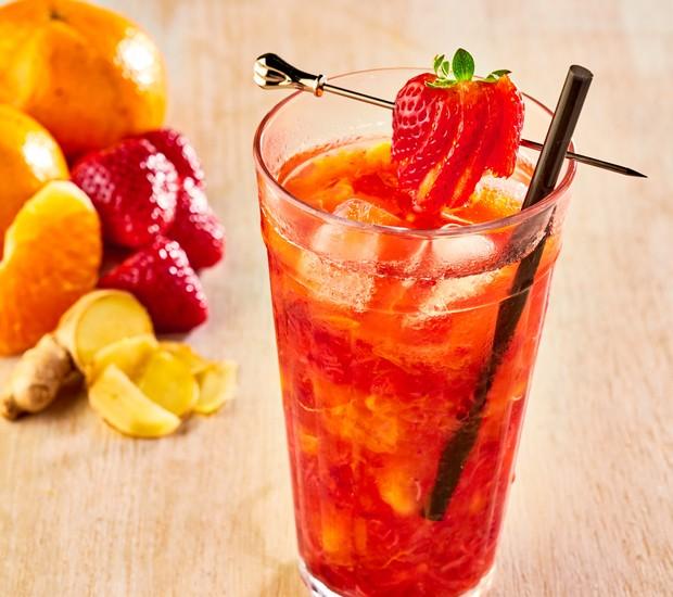 Margarita com morango (Foto: Divulgação)
