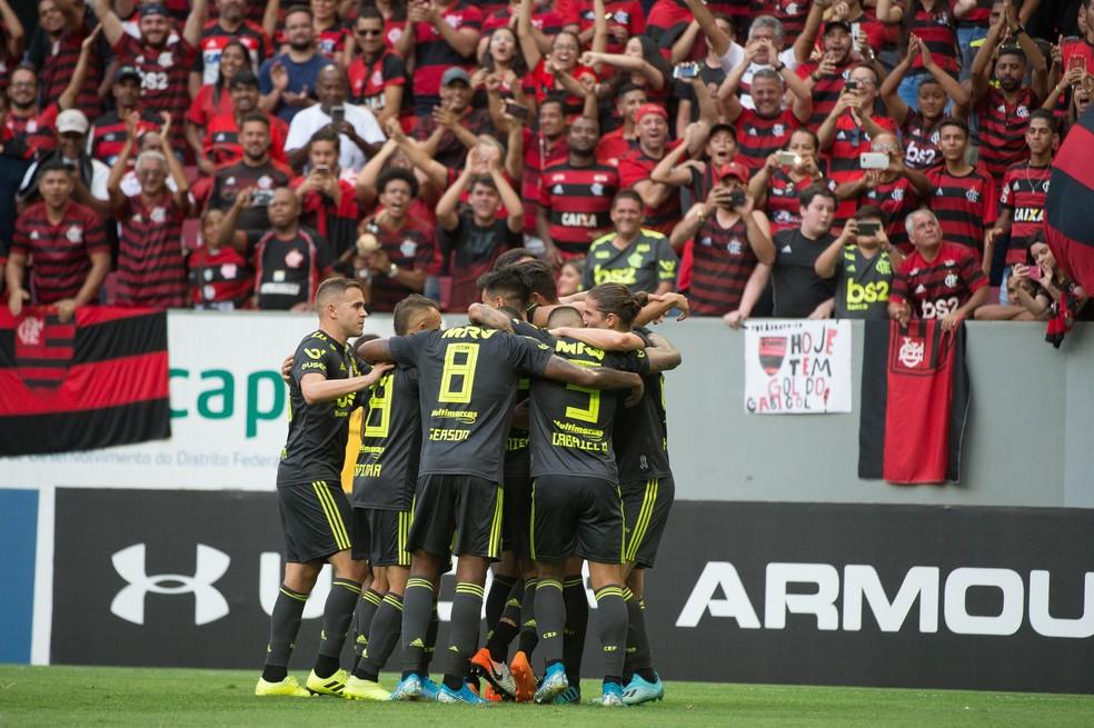 Boa fase do Flamengo alavancou a quantidade de sócios do clube — Foto: Alexandre Vidal/Flamengo