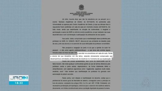 Unir é condenada a pagar indenização para palestrante da UnB chamada de 'sapatona doida' por servidor