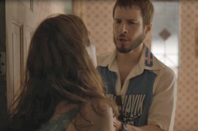 Rodrigo Garcia é Vicente em 'Amor de mãe' (Foto: Reprodução)