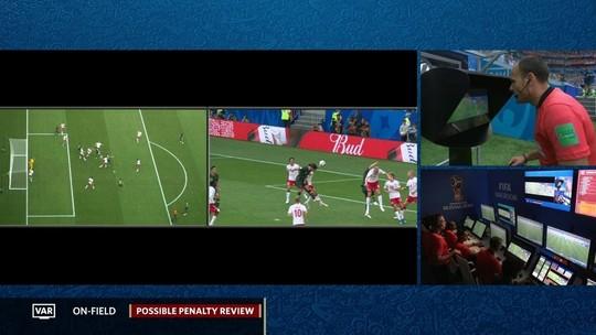 Dinamarquês faz 2º pênalti marcado pelo VAR em 2 jogos