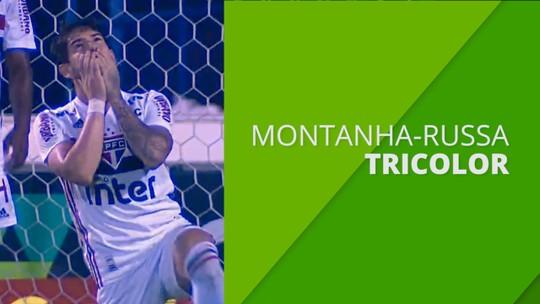Montanha-russa do São Paulo: time tira mais pontos dos líderes do que dos rivais que estão no Z-4