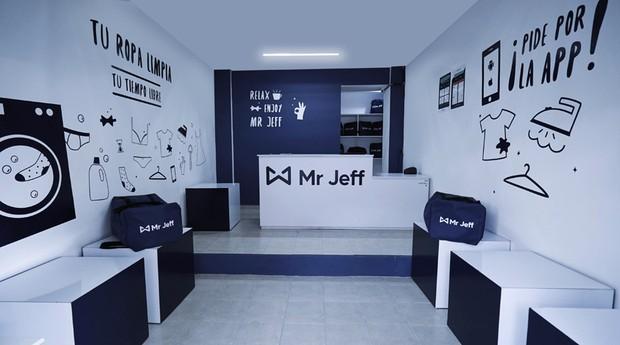 Unidade da Mr. Jeff: rede se espalhou pela Espanha e também pela América Latina (Foto: Divulgação)