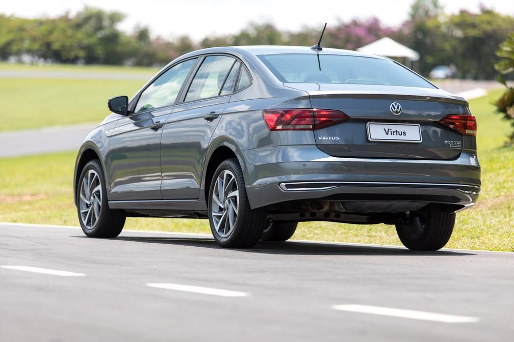Volkswagen Virtus (Foto: Marcelo Brandt/G1)