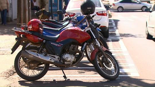 Motos terão de pagar estacionamento regulamentado em Cascavel a partir de junho