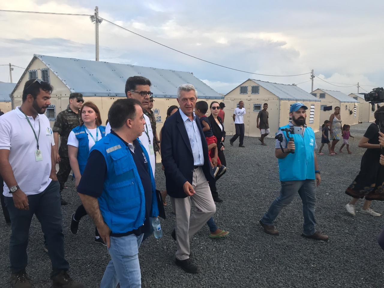 Alto comissário da ONU para refugiados vai pedir apoio internacional para ajuda a venezuelanos no Brasil - Notícias - Plantão Diário