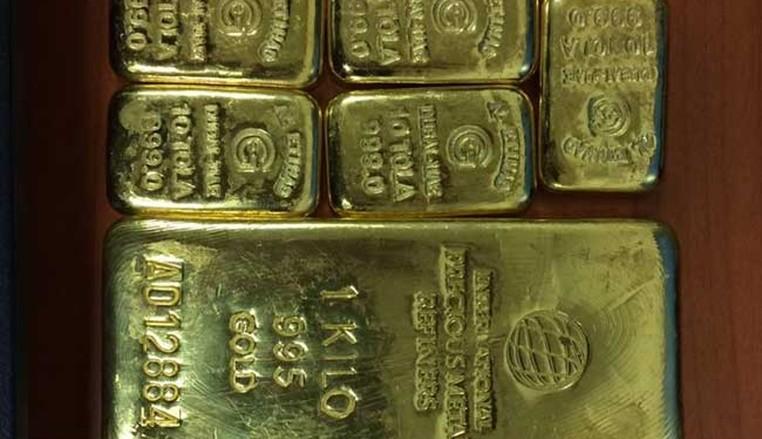 Passageira foi flagrada com mais de 2 kg de ouro escondidos na calcinha (Foto: Reprodução/Twitter/ANI_News)
