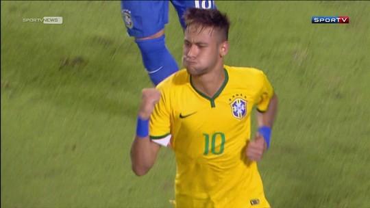"""Neymar diz que jejum de gols de falta da Seleção terminará em breve: """"Prometo um para vocês"""""""