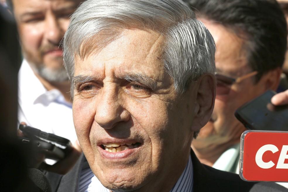 O general Augusto Heleno — Foto: DIDA SAMPAIO/ESTADÃO CONTEÚDO